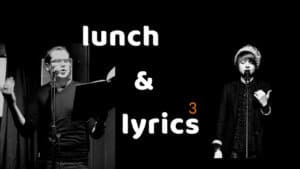 Eric Jansen & Theresa Hahl - Event-Cover für Lunch & Lyrics im Juni 2019