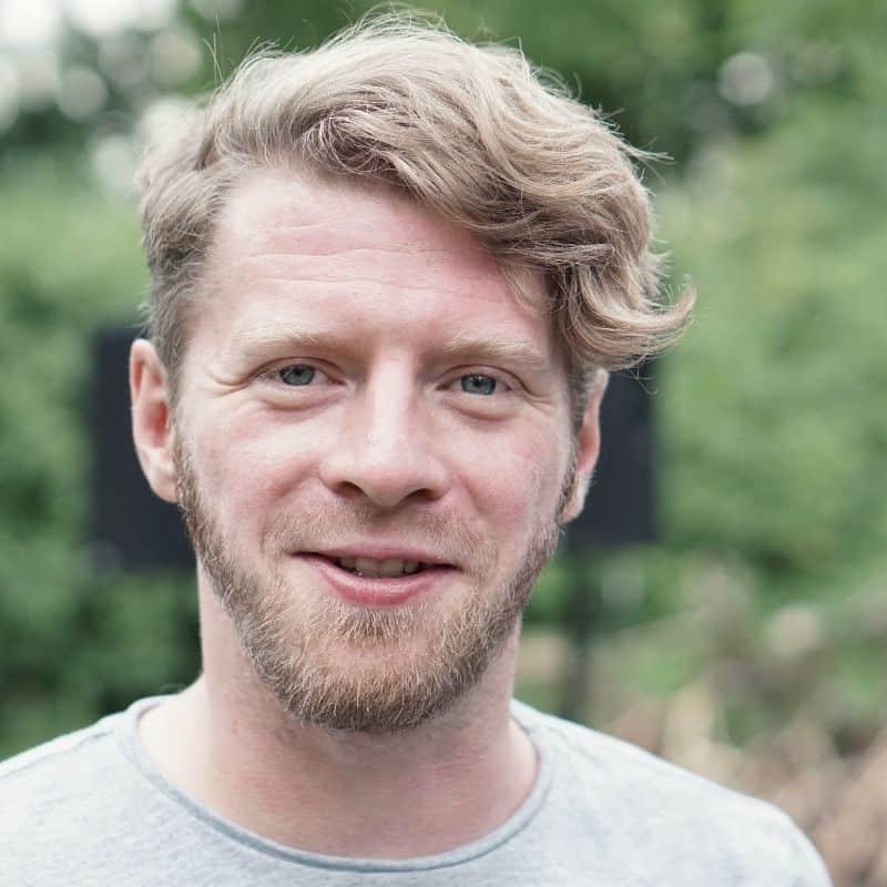 Poetry Slammer Jan Seglitz alias Jay Nightwind - Profilbild