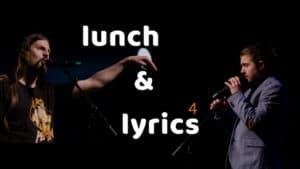 Micha-El Goehre und Emil Bosse - Titelbild für Lunch & Lyrics
